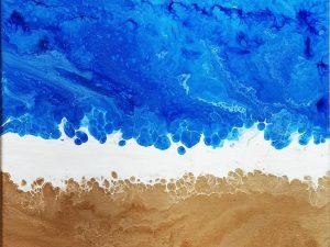 12 x 12 Ocean by Dream Dust Designs