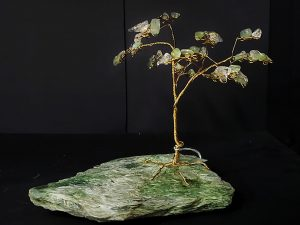 27B Brass Tree on Jade - Brilliantly Creative