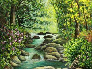 Cascade by Sandra Marshall
