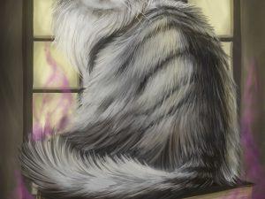 Cat Familiar by Tobias Vyseri