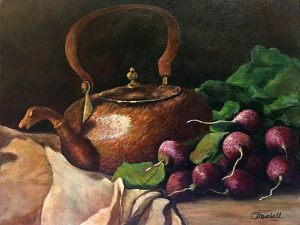 Copper Kettle by Sandra Marshall