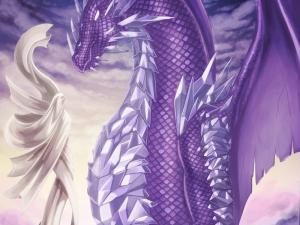 Purple Dragon by Tobias Vyseri