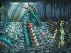 Blue Dragon by Tobias Vyseri
