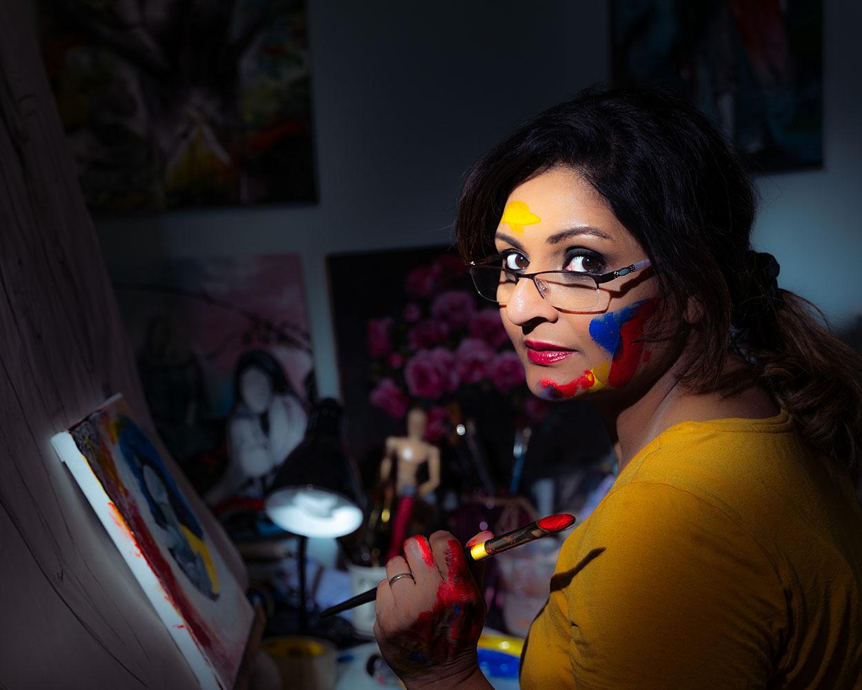 Sultana Mariam painting
