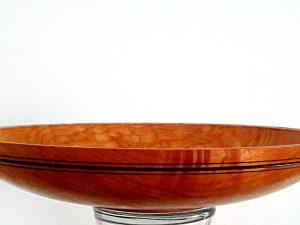 Figured Maple Platter by Brian Tyson