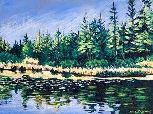 Whonnock Lake III by Kathy Nay