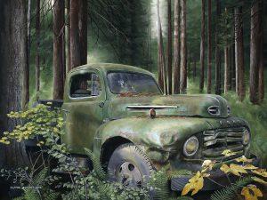 Ford 8x10 mini by Laura Levitsky