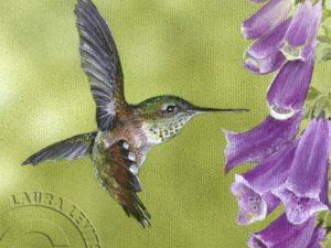 Garden Glitters 6x6 mini by Laura Levitsky