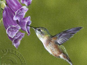 Garden Glitters 2 - 6x6 mini by Laura Levitsky
