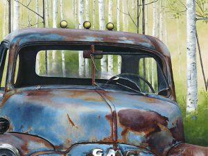 GMC Truck by Laura Levitsky