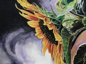 Sunflower Curtsy by Gail Steel