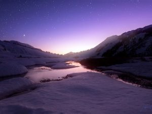 Alpine Twilight by Jaspreet Sidhu