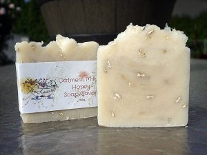 Oatmeal, Milk and Honey soap by Patti Lawn