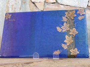 Cobalt Blue Plate by Vicki Urbich