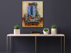 French Cottage Series #890 Display by Yvette Gagnon