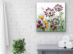 Whimsical Garden Series #2 by Yvette Gagnon
