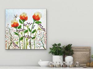 Whimsical Garden Series #3 by Yvette Gagnon