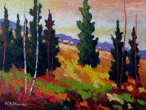Hillside by Shirley Thomas