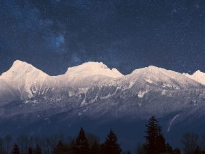 Mt. Cheam Range in Snow - Carsten Arnold
