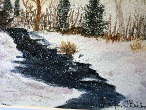A Winters Day by Jocelyn Bichard