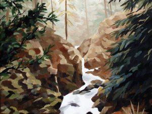 Canyon Creek by Sheila Van Delft