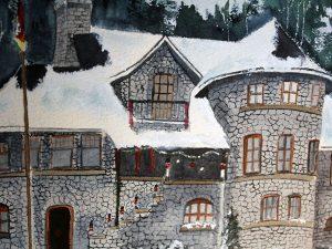 Castle Christmas by Jocelyn Bichard
