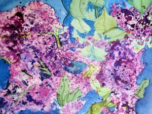I Love Lilacs by Jocelyn Bichard