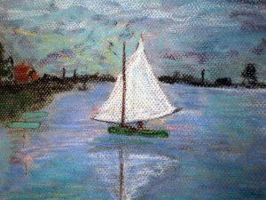Impression of Monet by Jocelyn Bichard