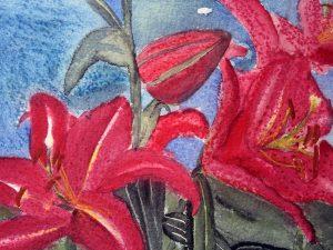 Lilies by Jocelyn Bichard
