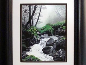 Rain Forest by Sheila Van Delft