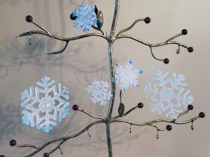 Snowflakes Christmas Ornament - Vicki Urbich