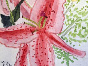 Starburst Lily by Jocelyn Bichard