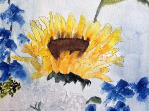 The Sunflower by Jocelyn Bichard