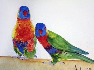 Two's Company by Jocelyn Bichard