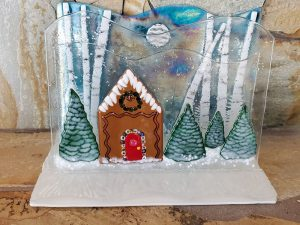 Layered Gingerbread House by Vicki Urbich