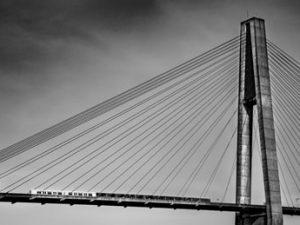 Skytrain Crossing by Brad Koop