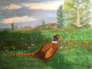 St Martins Pheasant by Jocelyn Bichard