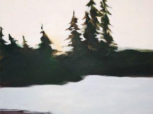 Blue Lake by Lindsay Schroeder