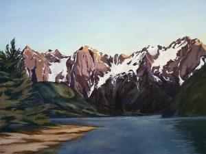 Jones Lake by Lindsay Schroeder