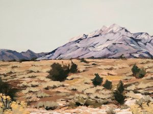 Snow in the Foothills by Lindsay Schroeder