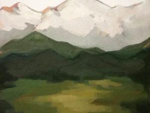 Sunlit Valley by Lindsay Schroeder